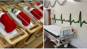 Pacjenci nie spodziewali się takiego obrotu spraw na święta! Zobacz co zrobił pe