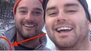Dwaj bracia z Kanady zrobili selfie roku! Gdy zobaczysz, kto im towarzyszy, będz