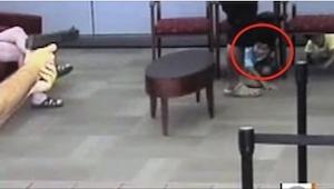 Gdy w banku pojawił się uzbrojony mężczyzna, ojciec dwójki dzieci zareagował bły