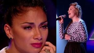 Ta 16 latka zaśpiewała własną wersję hitu Believe, którą doprowadziła jurorów do