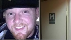 Ktoś płakał w męskiej toalecie, więc ten chłopak chciał pomóc. To, co potem powi