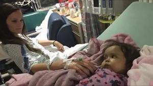 Gdy dowiedziała się, że jej 9-miesięczna córeczka jest chora, niania powiedziała