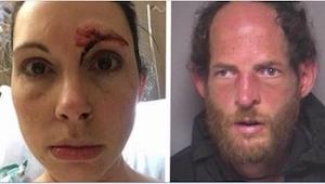 Kiedy mężczyzna zaatakował ją w publicznej toalecie, próbowała go drapać i kopać