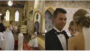 Ślub polskiej pary widziało już ponad 6 milionów internautów. Powód tego zainter