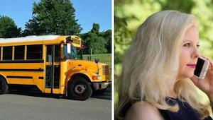 Matka została wezwana do szkoły po tym jak jej córka uderzyła innego ucznia - je