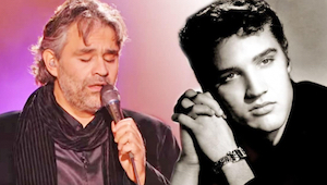 Musicie posłuchać jak Andrea Bocelli wykonuje hit Elvisa Presleya - niesamowite!