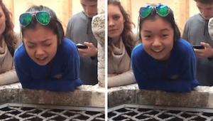 Nastolatka śpiewa Hallelujah do studni we Włoszech, brzmi jak anioł!