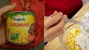Nigdy nie wiedziałam do czego użyć kukurydzy z puszki poza sałatką. Oto pyszne r