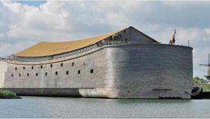 Cieśla spędził 7 lat na budowie ogromnej arki - wnętrze jest niesamowite!