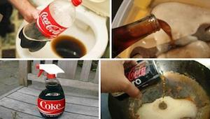 8 praktycznych zastosowań coca-coli, które koniecznie musisz poznać!