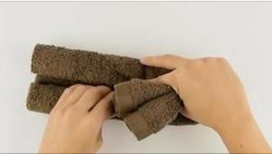 To, co zrobiła ze zwykłego ręcznika, jest marzeniem każdego dziecka!