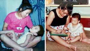 Samotna matka nie chciała porzucić niepełnosprawnego syna. 29 lat później stał s