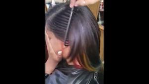 Nie wiem, jak fryzjerka uzyskała TEN efekt, ale ja też o to poproszę!