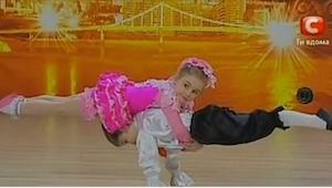 Na początku publiczność myślała, że te dzieci po prostu zatańczą, ale już po chw