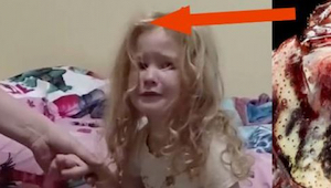 To co uratowało tę dziewczynkę przed paraliżem, który mógł ją zabić, było w jej.