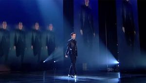 Kiedy ten chłopak zaczął swój taniec, nie spodziewałam się jak ogromny ma talent