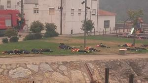 13 strażaków śpi podczas pożaru. Kiedy dowiedziałam się dlaczego nie mogłam ukry