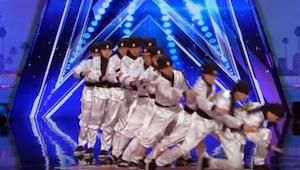 Kiedy grupa tancerzy powiedziała sędziom, że pokażą taniec jakiego jeszcze nigdy