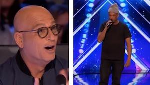 Kiedy mężczyzna w czapce wyszedł na scenę nikt nie spodziewał się, że jego wystę