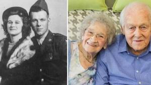 Od 80 lat są małżeństwem, a wciąż zachowują się jak zakochane nastolatki. Dzisia