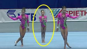 To co gimnastyczki zrobiły swojej koleżance jest niewiarygodne!