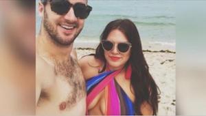 Opublikował zdjęcia swojej krągłej żony w stroju kąpielowym i wywołał burzę!