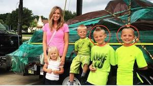 Zostawiła dwóch synków bez opieki ze względu na straszny ból jajnika. Kiedy wróc
