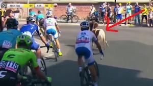 Na 6. etapie Tour de Pologne do wyścigu dołączyła niespodziewana gwiazda... Kibi