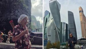 Mówili jej, że jest szalona, a ona po prostu chce podróżować... mając 89 lat.