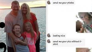 Kiedy ojciec przeczytał wiadomości swojej 7-letniej córki natychmiast skontaktow