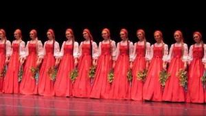 Rosyjskie tancerki wyszły na scenę, gdy rozpoczęły swój występ nikt nie mógł uwi