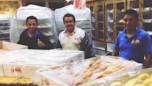 Piekarze utknęli w pracy podczas huraganu. Postanowili więc spędzić ten czas pro