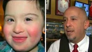 Mężczyzna nie chciał jeść w restauracji, gdzie jednym z gości było dziecko z zes