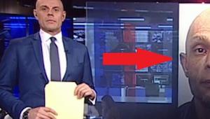 Zdjęcie poszukiwanego zaszokowało prezentera. Zobaczcie dlaczego!