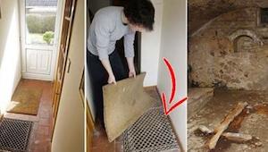 Pijana para zabawiała się w domu i odkryła, że pod nim ukryta jest kaplica
