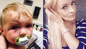 Kobieta pobiła 8-miesięczne dziecko. Wyrok sądu zaszokował wszystkich.