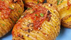 Gdy zrobiła TE ziemniaki na obiad, jej dzieci zapomniały o frytkach! Sprawdź, ja
