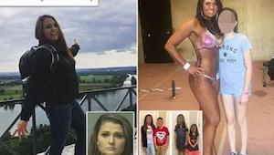 Matka zostawiła czwórkę dzieci samych w domu z naładowaną bronią i wyjechała na
