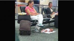 Wyczerpana matka została wyśmiana w Internecie z powodu jednego zdjęcia, ale opo