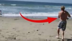 To, co ten mężczyzna znalazł na plaży, zachwyci Was! Ach te oczy...