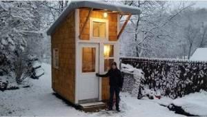 Trzynastolatek zbudował własny dom. Zobaczcie jego własnoręcznie wykonane dzieło