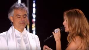 Celine Dion i Andrea Bocelli wspólnie śpiewający TEN hit? Nie możecie tego przeg