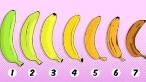 Którego banana byście wybrali? Wasza odpowiedź może mieć wpływ na Wasze zdrowie!