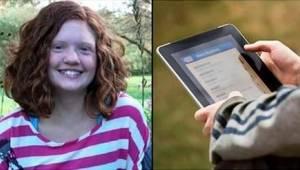 Ojciec miał złe przeczucie, więc przejrzał iPada swojej córki i odkrył przerażaj
