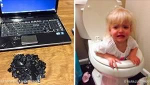 21 zdjęć, które są najlepszymi dowodami na to, że dzieci pod żadnym pozorem nie
