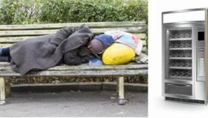To pierwszy tego typu bankomat tylko dla osób bezdomnych!