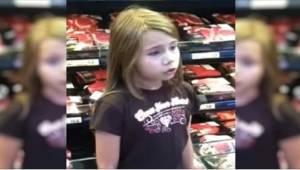 8-latka została nagrana, gdy śpiewała w supermarkecie. Szybko wywołała sensację