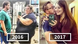 Kobieta ważyła prawie 220 kilogramów. Gdy zobaczycie jej stare zdjęcia, nie uwie