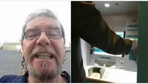 Gdy znalazł w bankomacie zapomniane 500 dolarów, udał się prosto do banku i zask