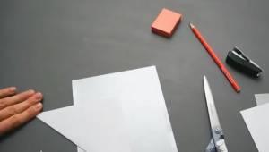 Kilka kartek papieru, nożyczki, klej... Efekt? Świetny!